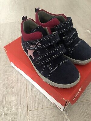 £20 • Buy New Size 23 Girls Superfit Leather/Suede Shoes.