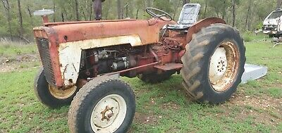 AU4500 • Buy Tractor & Slasher - Ready For Work, Lots Of New Parts - Diesel, PTO, Diff Lock