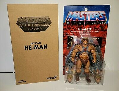 $320 • Buy Ultimate He-man,super 7,masters Of Universe,classics Sealed
