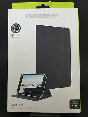 AU24.95 • Buy Pure-Gear Universal Tablet Folio Cover Case For 7  & 8  Inch Screens AU Sellers
