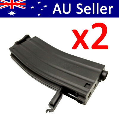 AU32.99 • Buy 2x Gen 9 M4A1 J9 Nylon Magazine Mag Replacement Toy Gel Ball 7-8mm Accessories