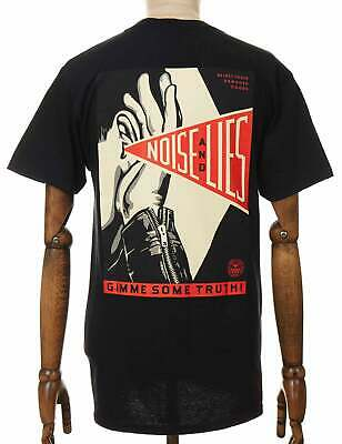 £38.50 • Buy Obey Clothing Gimme Some Truth Tee - Black