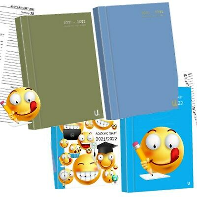 £3.99 • Buy 2021/22 A5 Page A Day Academic Diary Hardback Student Teacher Planner Organiser