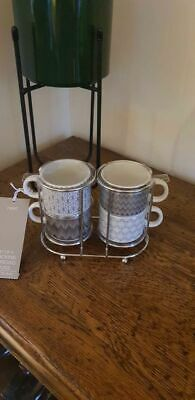 £20 • Buy NEXT New Set Of 4 Stacking Espresso Cups