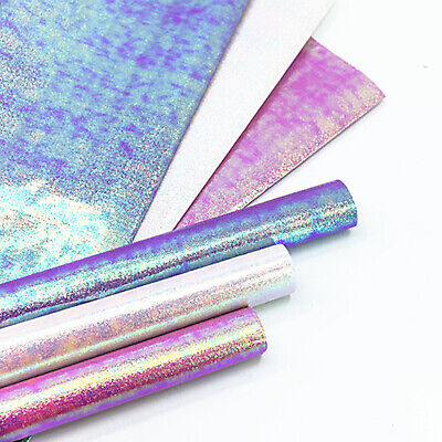 £3.33 • Buy Birthday Gift Wrapping Paper Shiny Rainbow Color Bouquet Wedding Decor 50X70 Cm