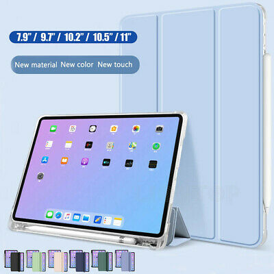 AU21.99 • Buy Smart Case Cover&Pencil Holder For IPad 8th 7th 6th 5th Gen Pro 11 Air 3 4 10.9