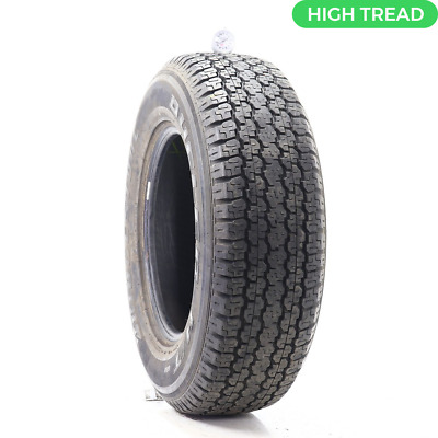 $98.97 • Buy Used 255/65R16 Bridgestone Dueler H/T 689 106S - 9/32