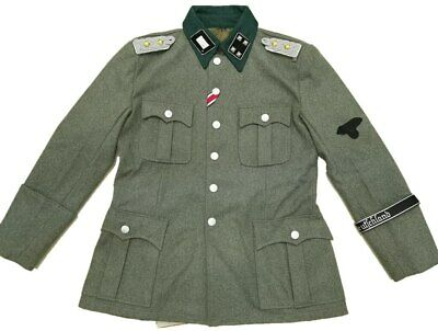 Wwii Ww2 German M36 Officer's Wool Field Military Uniform Army Colonel Tunic • 189£