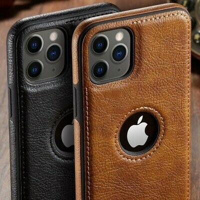 Luxury Leather Shockproof Case For IPhone12 11 Pro Max XR X XS MAX 8/7 Plus • 4.99£