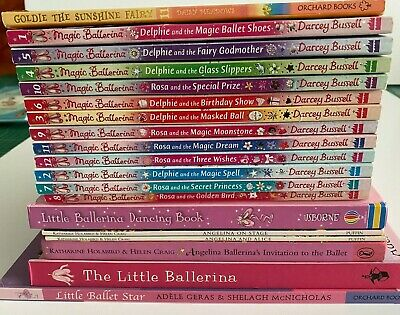 £16.95 • Buy 19 X Angelina Ballerina/Darcey Bussell Book Bundle & Other Ballet Stories