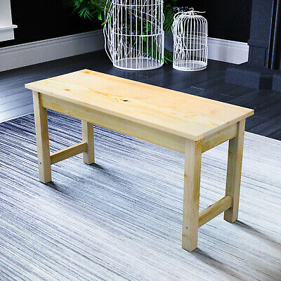 £40.99 • Buy Dining Bench Wooden Long Seat For Kitchen Table Chairs Home Hallway