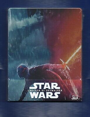 AU9.04 • Buy Star Wars: The Rise Of Skywalker 3D + 2D - Blu-ray Steelbook - New/Sealed