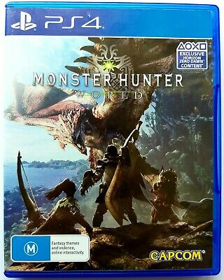 AU19.99 • Buy Monster Hunter World | Sony Playstation 4 PS4