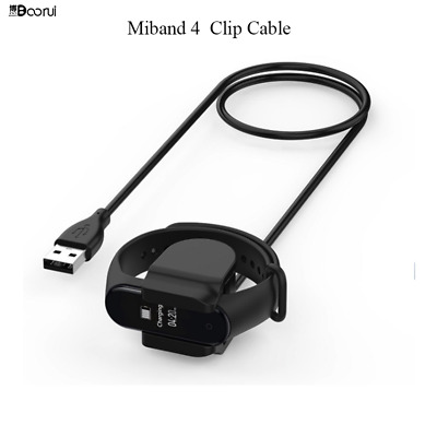 $6.41 • Buy BOORUI Mi Band 4 Charger USB Charging Clip Cable For Xiaomi Mi Band 4