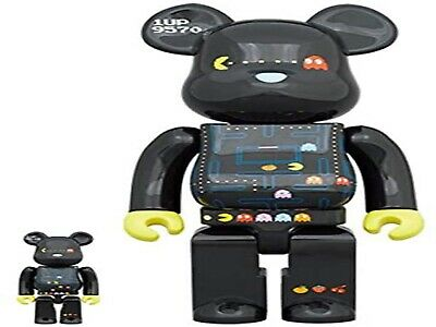 $205 • Buy Medicom Toy BE@RBRICK PAC-MAN 100 And 400 40th Anniversary New From Japan