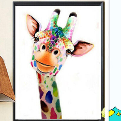 Giraffe Craft 5D Diamond Painting Art Embroidery Kits Crystal Embroidery Picture • 4.69£