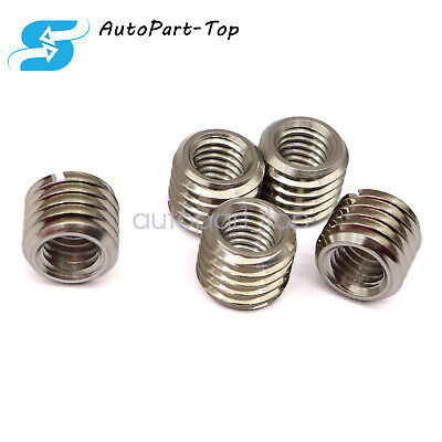 $10.79 • Buy 5 X THREAD ADAPTERS - M12 12MM MALE TO M8 8MM FEMALE - THREADED REDUCERS
