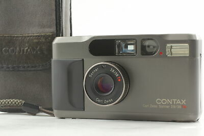 $ CDN1287.28 • Buy *N Mint W/Case* Contax T2 Titan Black 35mm Point & Shoot Film Camera From JAPAN