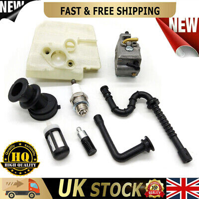 £16.29 • Buy Carburetor Air Fuel Filter Oil Line Kit Fits Stihl MS260 026 MS240 024 Chainsaw