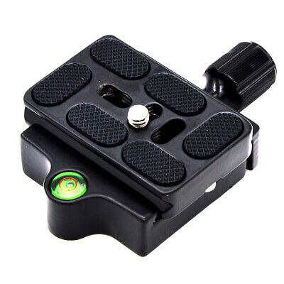 £7.39 • Buy KZ-20 Quick Release Clamp + QR Plate Adapter Mount For Arca Swiss Tripod Head