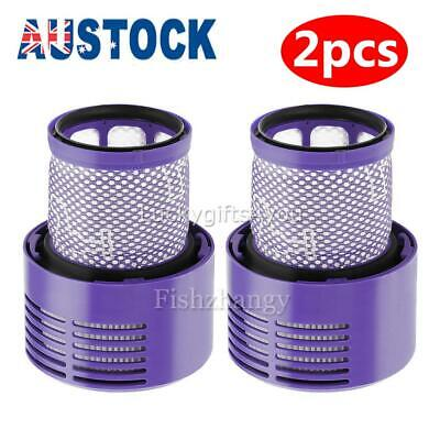 AU19.95 • Buy For DYSON V10 Filter Genuine Cyclone Animal Absolute Total Clean Washable 2 Pack