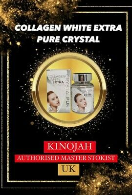 Collagen Extra White Pure Crystal 💯%  Effective Skin Whitening 30 Capsules • 50£