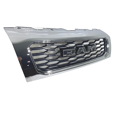 $335.21 • Buy Upper Front Grille Grill Chrome Radiator For Dodge Ram Promaster 1500 2500 3500