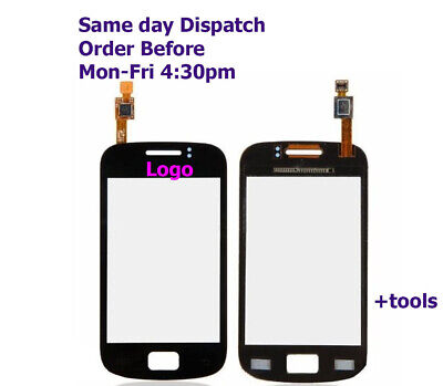 Digitizer Touch Screen Glass For Samsung Galaxy Mini 2 GT S6500 + Tools • 24.99£
