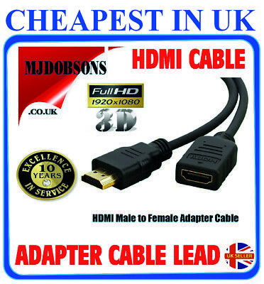 £2.39 • Buy Fire Stick Extension Lead Smart TV HDMI Adapter Cable 11cm Lead -Free Post