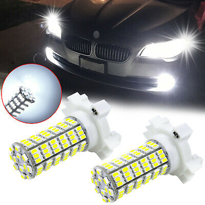 $13.97 • Buy Bright White PY24W 5200s 120-SMD LED Turn Signal Lights Bulbs For BMW Land Rover