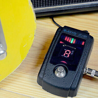 $ CDN66.56 • Buy Aluminum Guitar Chromatic Tuner Pedal Pitch Calibration With LCD Display