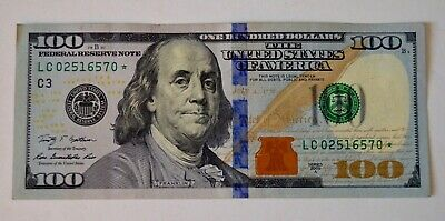 $149.95 • Buy 2009 Hundred Dollar Bill Star Note          L C 0 2 5 1 6 5 7 0 *
