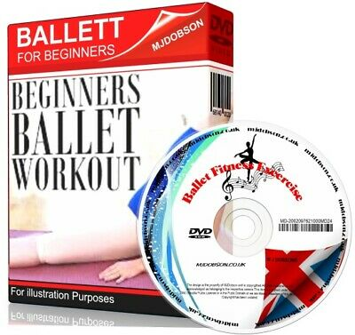 £6.95 • Buy Ballet Workout Fitness Exercise Get Fit Dance Flexibility Weight Fat Loss DVD