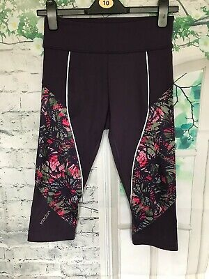 £19 • Buy Triaction By Triumph Cardio Apparel Better Capri Leggings Size S