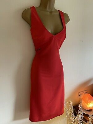 £60 • Buy Versace Red Dress Size 32/46