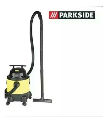 £49.99 • Buy Parkside Wet And Dry Vacuum Cleaner 1300W 20L 3-years Warranty Invoice  INCLUDED