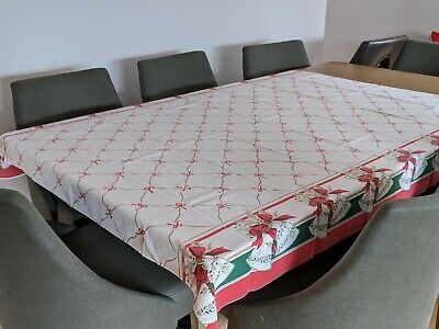 $ CDN15 • Buy Vintage Christmas Tablecloth