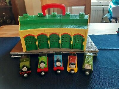 £22.99 • Buy Thomas & Friends Take-n-play Tidmouth Shed With 5 Trains