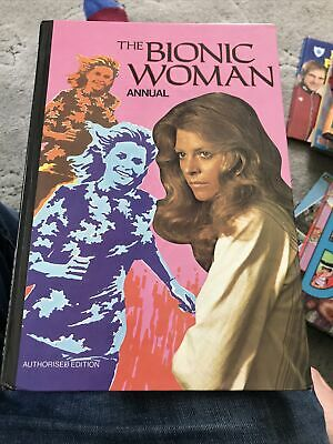 £9.99 • Buy The Bionic Woman Annual By Brown Watson 1977