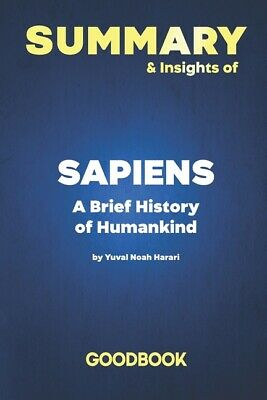 AU16.31 • Buy Summary & Insights Of Sapiens A Brief History Of Humankind By Yuval Noah Ha...