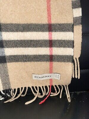 $226 • Buy Classic Check Burberry Scarf