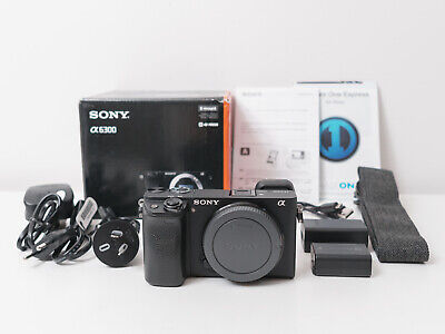 AU840 • Buy Sony A6300 4K Camera Body Only ~Excellent Condition & Low Shutter ~$790 Use Code
