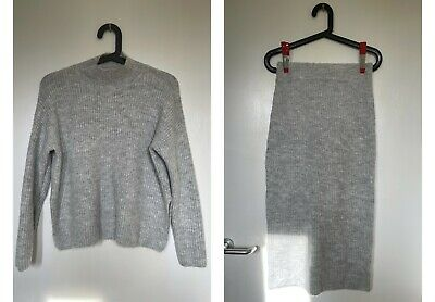 £12 • Buy Primark Knit Co Ord Jumper With Long Line Skirt Size XS