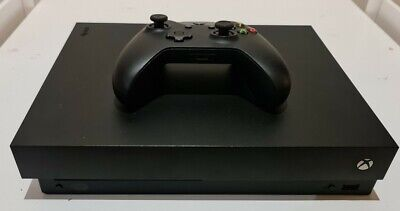 AU182.50 • Buy Microsoft Xbox One X With Controller And Cords In Good Working Order.
