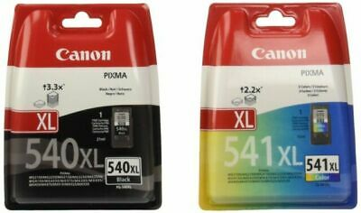 Canon PG-540XL CL-541XL High Capacity Ink Cartridge Multi-Coloured Pack • 33£