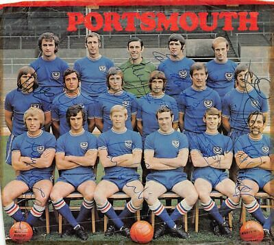 £17.99 • Buy PORTSMOUTH FC 1970-71 Signed Magazine Clipping 9  X 7½   (12 Players)