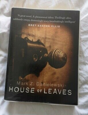 House Of Leaves By Mark Z. Danielewski (Paperback, 2000), With Plastic Jacket • 15£