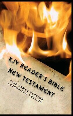 AU33.34 • Buy Kjv Reader's Bible (New Testament)