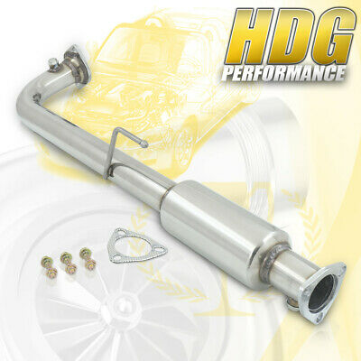 $72.50 • Buy Race Converter Header Down Hi-Flow Catback Steel Exhaust Pipe For 01-05 Civic EX