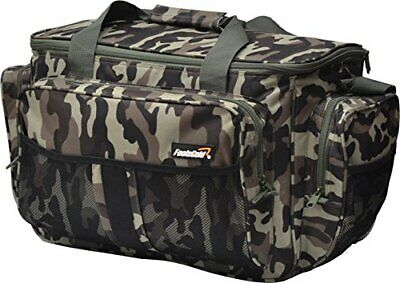 £33.99 • Buy FoolsGold Large Insulated Fishing Tackle Holdall Bag - Camouflage